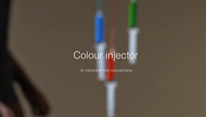 injeccion de color